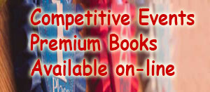 Competitive Events premium books available on-line